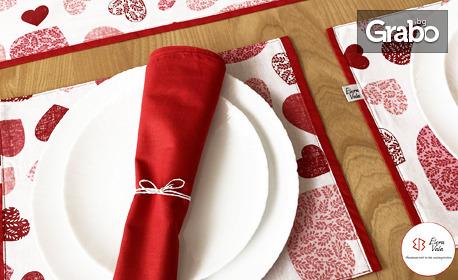 Красота в кухнята - уют у дома! Тишлайфер, подложки или комплект за маса