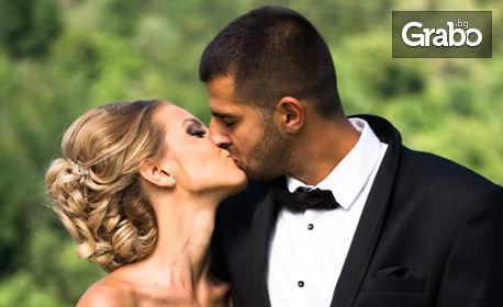 3 часа фотозаснемане на сватба, с неограничен брой обработени кадри