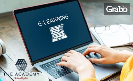 """Онлайн курс """"Счетоводно отчитане и контрол на проекти"""" - с достъп до платформата за 1 месец и сертификат"""