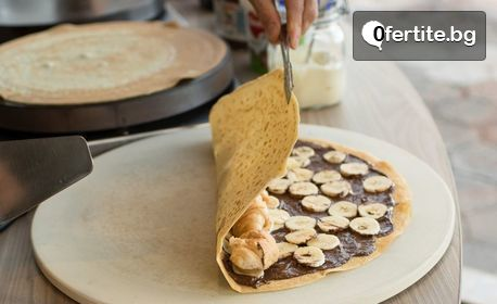 Малка или голяма палачинка по избор - вземи за вкъщи или хапни на място