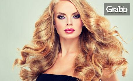 Поставяне на екстеншъни с капси - за удължаване и сгъстяване на косата