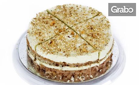 Безглутенова торта Пистачо или Матча с 4 парчета