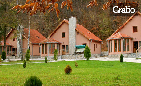 изображение за оферта Пролет в Рибарица! 2 или 3 нощувки със закуски за до шестима възрастни и 2 деца в самостоятелна къща, от Планински комплекс Green Village