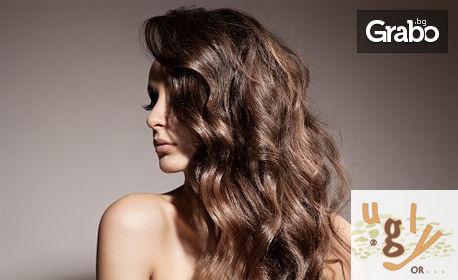 Бамбукова терапия за коса, плюс подстригване и прическа със сешоар