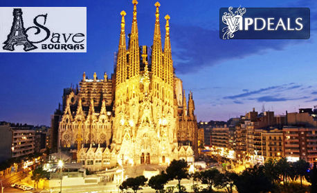 Посети Милано, Френската Ривиера и Барселона! 5 нощувки със закуски и 3 вечери, плюс самолетен транспорт