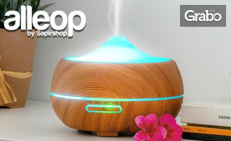 Овлажнител за въздух InnovaGoods с дифузер за етерични масла - с