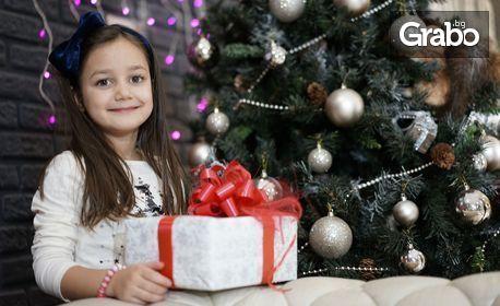 Коледна фотосесия в Grand Mall Варна с 12 обработени и разпечатани кадъра