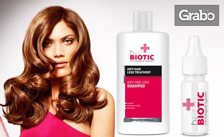 Шампоан и ампули Hair Biotic - за коса, склонна към косопад