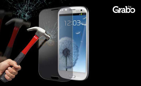 Tempered Glass за iPhone 4, iPhone 5, iPhone 6, iPhone 6+, Samsung S3, Samsung S4, Samsung S5, Samsung S6