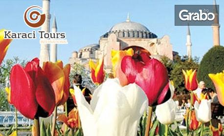 За Фестивала на Лалето в Истанбул! 2 нощувки със закуски, плюс транспорт от София