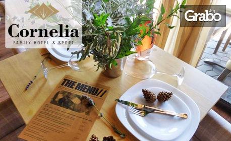 Юли и Август край Банско! 5 нощувки със закуски за двама - без или със вечери, плюс топъл басейн и външна озеленена релакс зона