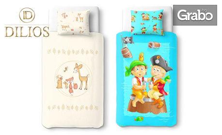 Бебешки спален комплект от ранфорс, в десен по избор