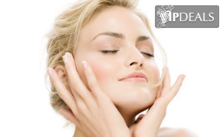 Дълбоко почистване на лице, хиалуронова алгомаска или anti-age терапия със злато и фитохормони