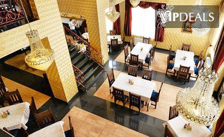 SPA релакс във Велинград! Нощувка със закуска, вечеря и възможност за обяд, плюс аквапарк за деца