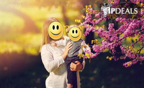 Семейна фотосесия на открито с 30 обработени кадъра