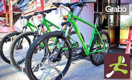 Планинско приключение в Банско! Наем на велосипед и каска за до 4 часа