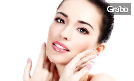 Почистване на лице с продукти на ProfiDerm - без или със оформяне на вежди