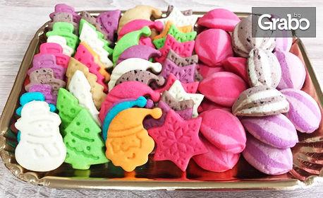 700гр сладки, соленки, меденки или овесени бисквитки или 500гр шоколадови бисквитки