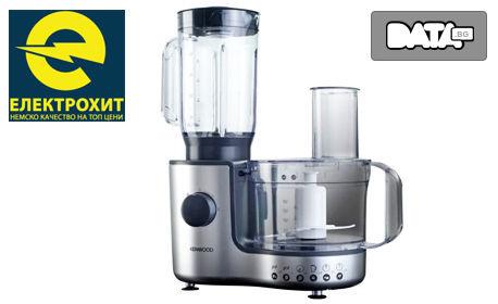 Кухненски робот Kenwood FP195 - за блендиране, нарязване, настъргване и накълцване