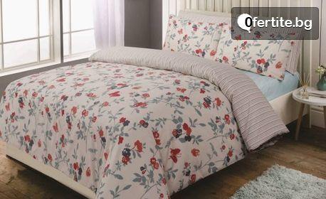Спален комплект от перкал - десен и размер по избор