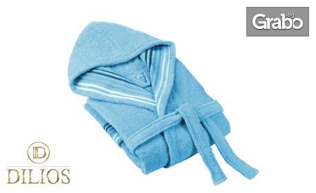 """Халат за баня """"Венеция"""" от 100% фин памук - в размер и цвят по избор"""
