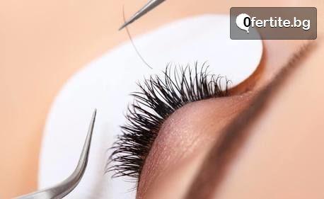 """Поставяне на мигли - по метод """"Косъм по косъм"""" или обемна техника"""