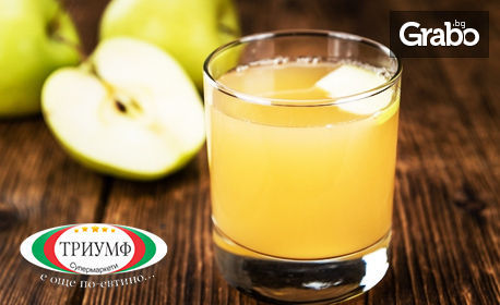 1 литър фреш от ябълка или ябълка и морков