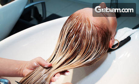 Кератинова терапия за коса или боядисване с боя Fanola - без или със подстригване