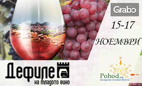 """За Фестивала """"Дефиле на младото вино"""" в Пловдив! Еднодневна екскурзия на 16 Ноември"""