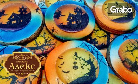 Вкусна почерпка за Хелоуин! 10 празнични ръчно декорирани бисквитки
