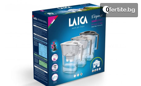 Кана за филтриране на вода Laica Prime Line или комплект филтри по избор