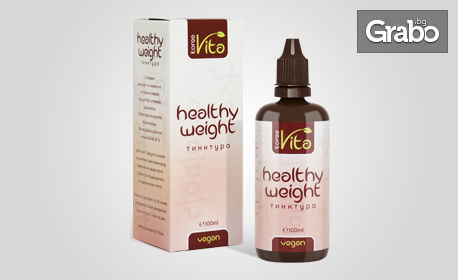 Билкова тинктура Healthy weight