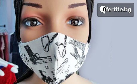 Четирислойна предпазна маска за лице за многократна употреба - дамска, мъжка или детска