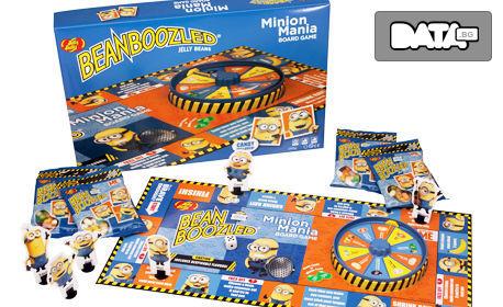 Настолна игра Minion Mania с желирани бонбони BeanBoozled