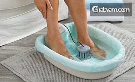 1 процедура йонна детоксикация, плюс топла масажна вана на стъпала с ароматни соли