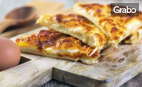 20 броя хапки банички със сирене или с шунка и кашкавал