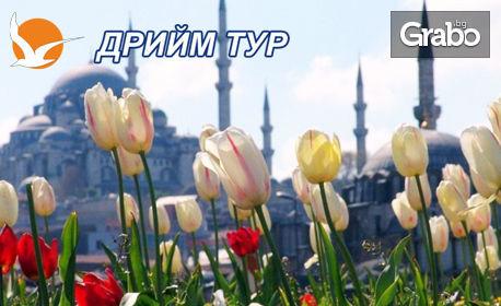 Екскурзия до Истанбул за Фестивала на Лалето! 2 нощувки със закуски, плюс транспорт и посещение на Одрин, от Дрийм Тур