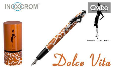 Дизайнерска химикалка или писалка Inoxcrom, с лазерно гравирано име или инициали