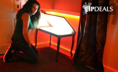 Детски рожден ден - с ескейп игра, аниматор, заснемане и ползване на стая за почерпка