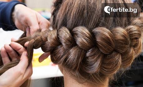 Кератиновата терапия за коса или сплитане на боксьорски плитки