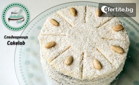 """Торта """"Рафаело"""" с ванилов крем и кокос"""
