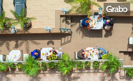 Цяло лято в Слънчев бряг! 2 или 3 нощувки със закуски и възможност за вечери или All Inclusive, плюс басейн, шезлонг, чадър и паркинг