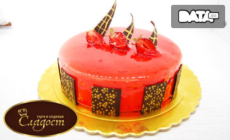 Сладоледена торта Ванилия, Ягода или Браунис Фереро, в луксозна кутия