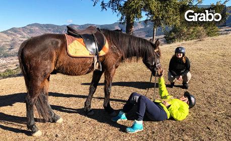 Планинска езда край село Хвойна - за начинаещи и напреднали