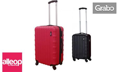 Куфар за ръчен багаж Zephyr с ABS корпус, в цвят по избор