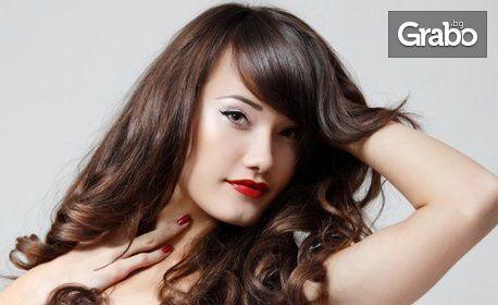 Кератинова терапия за коса Scharzkopf Professional и оформяне - без или със подстригване