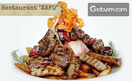 1.2кг плато със сръбска скара и домашни пържени картофки