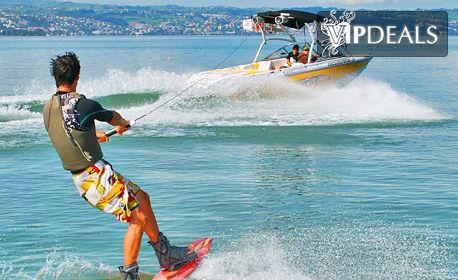 За любителите на водните спортове! Wakeboard с инструктор, плюс екипировка