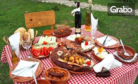 Купон по сръбски! Екскурзия до Етно Комплекс Срна с нощувка, закуска, вечеря, транспорт и посещение на Пирот
