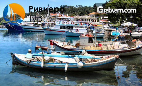 Почивка на острова на сирените - Тасос! 3 нощувки на база All Inclusive в хотел Rachoni Bay Resort 3*, плюс транспорт